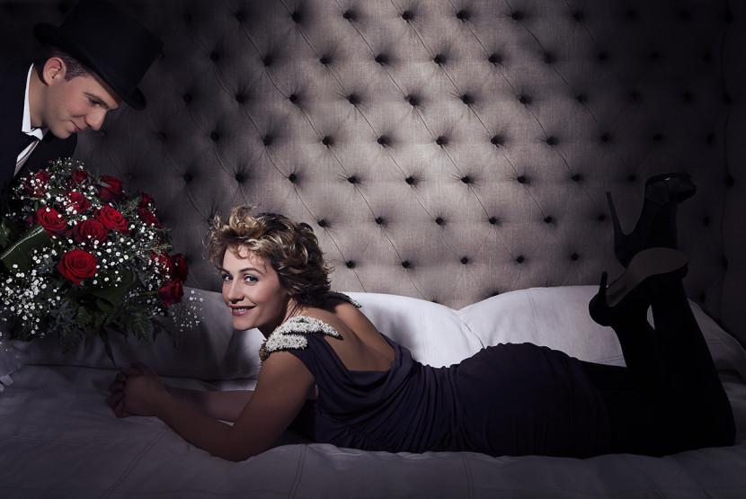 Portrait de la comédienne belge Cécile de France