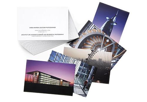 Moo des cartes de visite personnalisable à l'unité recto verso pour idéales pour les photos
