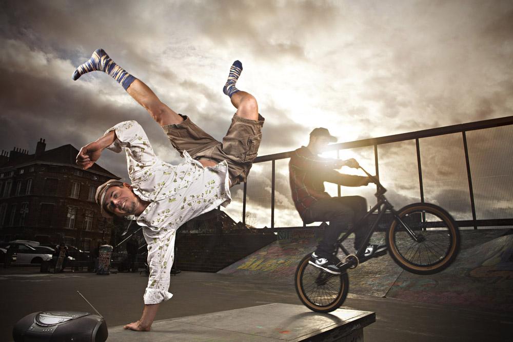 photos publicitaires de la marque Belge de chausettes Jollysox.