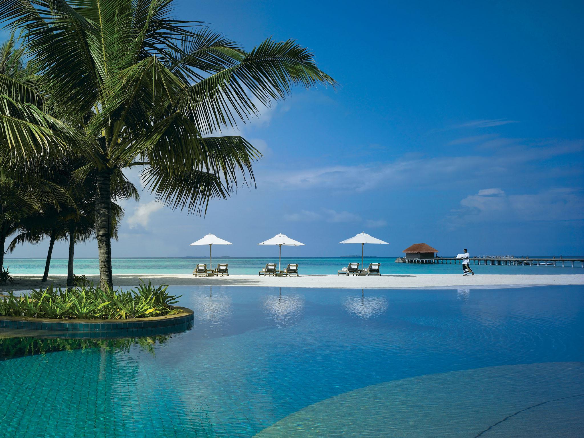 d couverte de l 39 h tel kanuhura aux maldives. Black Bedroom Furniture Sets. Home Design Ideas