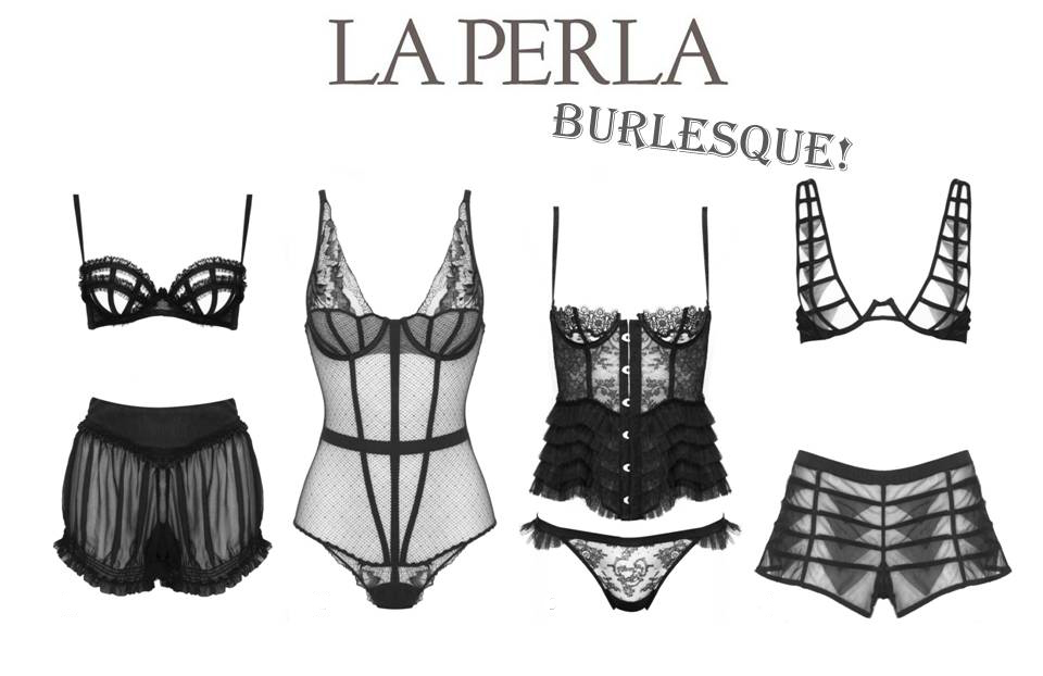 Collection de lingerie burlesque et rétro chic de La Perla