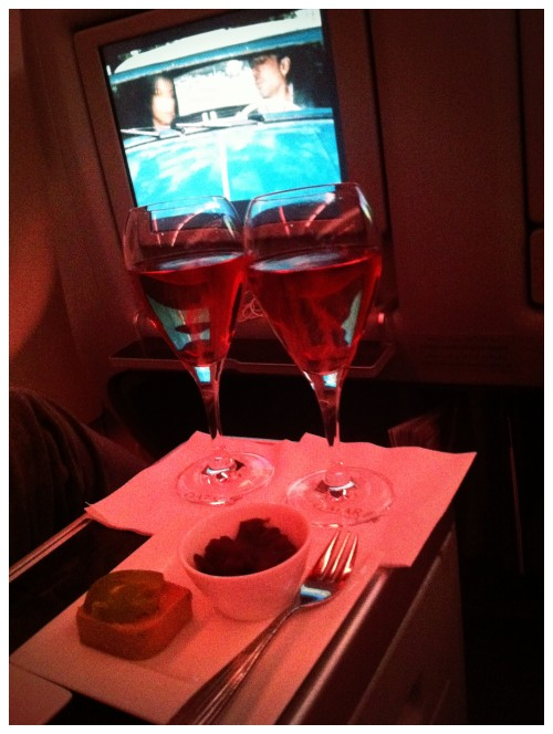 Qatar Airways Bollinger