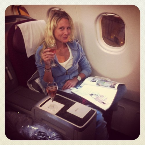 Qatar Airways Julie