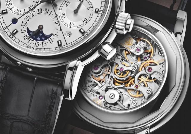 Les montres Patek Philippe de la joaillerie De Greef à Bruxelles une présentation de plus de 100 montres de luxes exposées en Belgique.