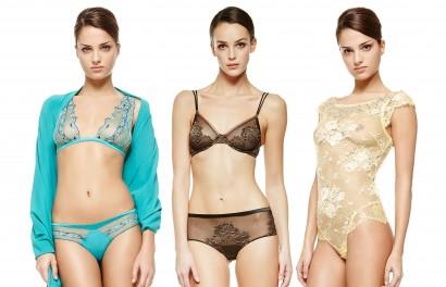 Lookbook photos de la marque italienne de lingerie de luxe La Perla collection primptemps été 2014