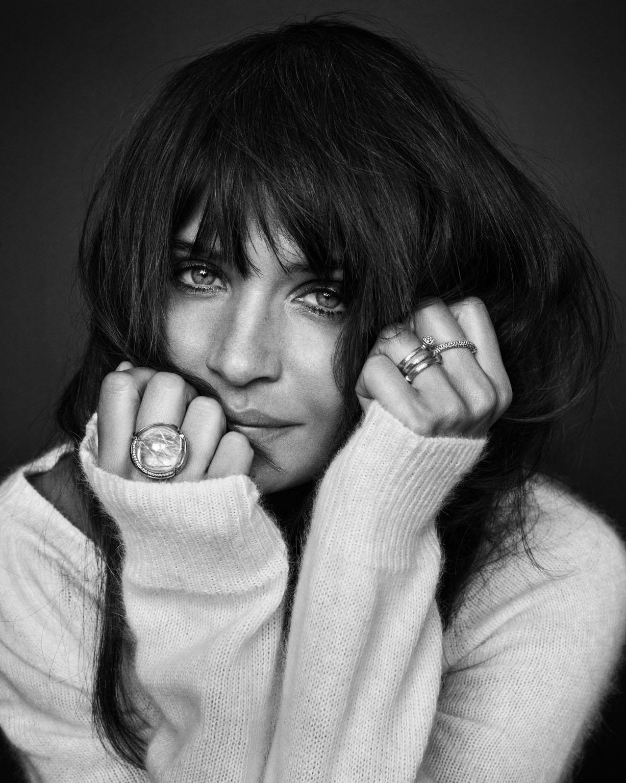 L'ancien top modèle Helena Christensen égérie de la marque de bijoux danois Ole Lynnggard