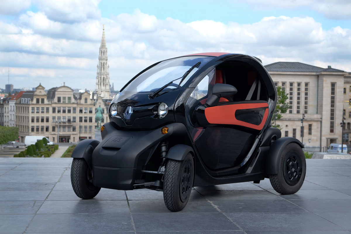 essai de la voiture lectrique renault twizy par michel gronemberger. Black Bedroom Furniture Sets. Home Design Ideas