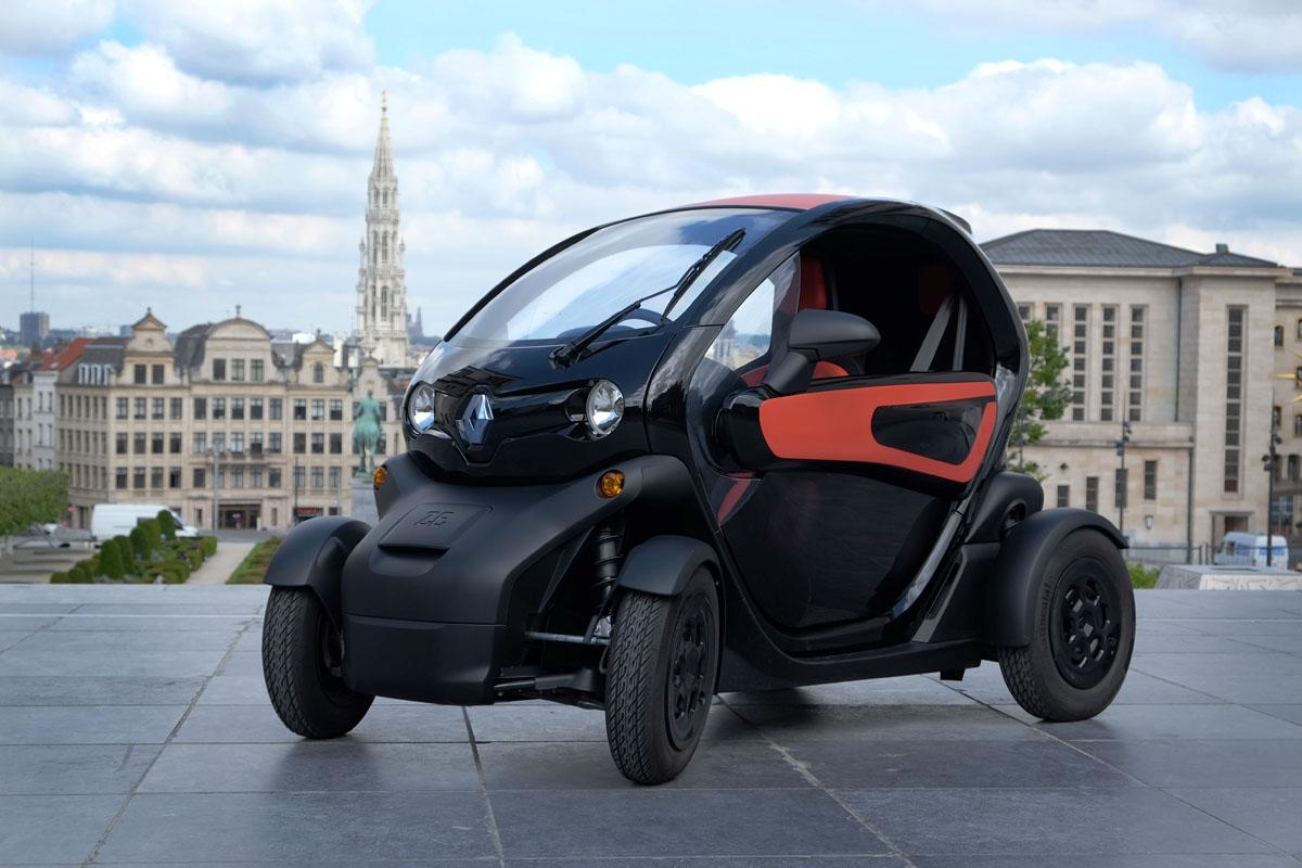 photo de la voiture éléctrique Renault Twizy