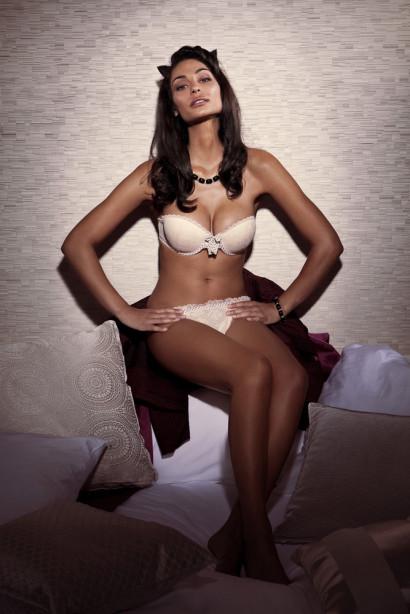Tatiana Silva, rtbf, M6, Miss Météo, Lingerie, photo sexy, Véla Lingerie