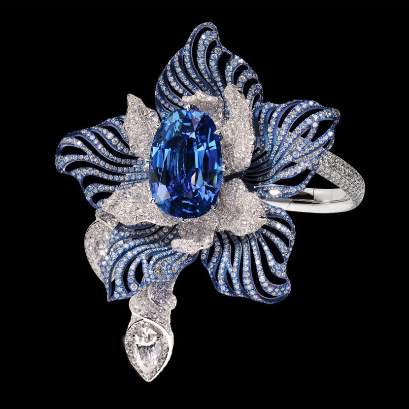 Bracelet_Orchidee_joaillerie_Manalys_saphir