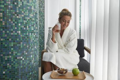 Le nouveau Spa de luxe à Bruxelles Deep Nature, 600 m2 dedié au bien-être avec la gamme des produits de soins et beauté Cinq Mondes.
