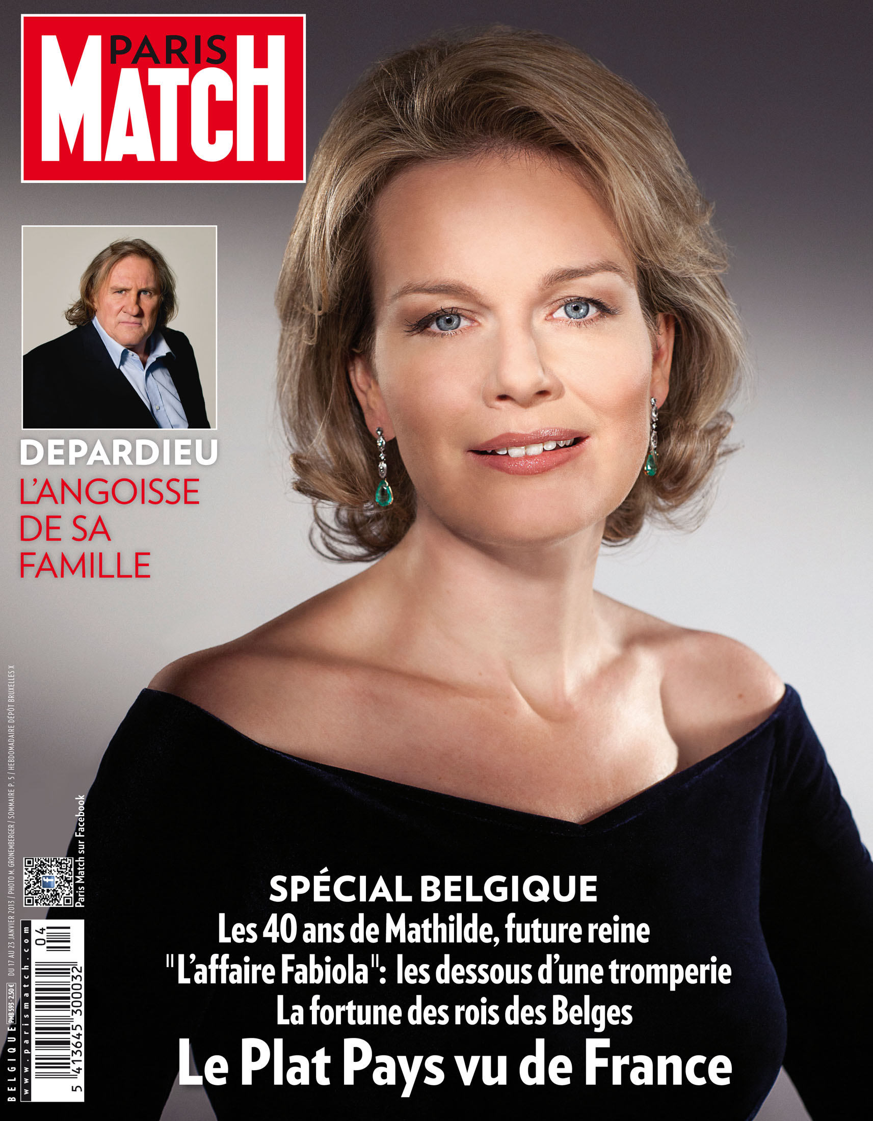 la reine mathilde de belgique couverture paris match. Black Bedroom Furniture Sets. Home Design Ideas