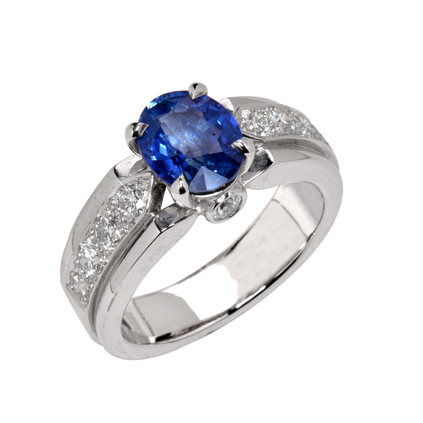 Holemans Bague Gabrielle safir