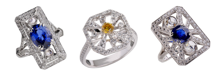 Holemans_bague_flocon_diamant_jaune_safir