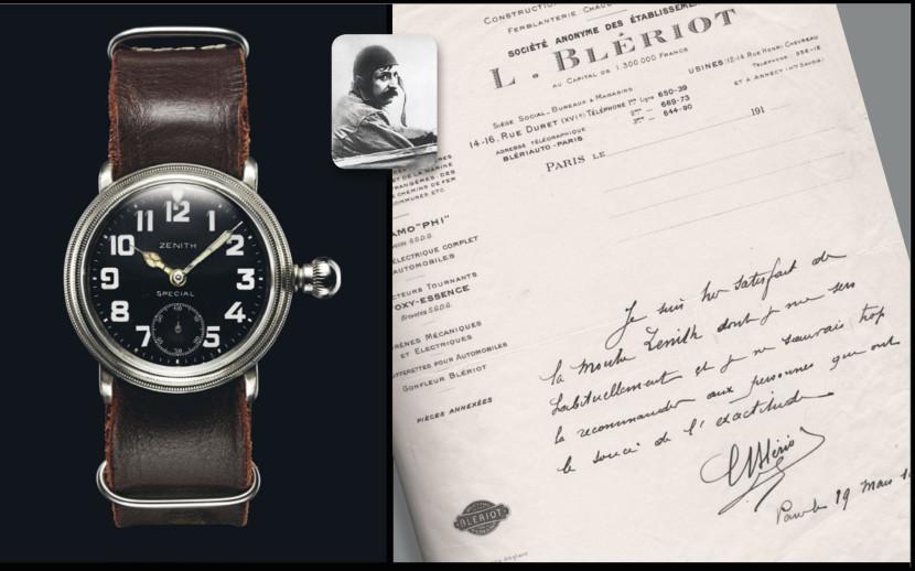Zenith Pilot Louis Bleriot