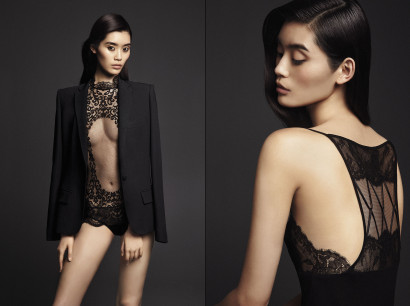 Collection de lingerie et balnéaire de la marque de luxe La Perla Spring Summer 2015 sur le blog lifestyle mode du blogueur Belge Michel Gronemberger