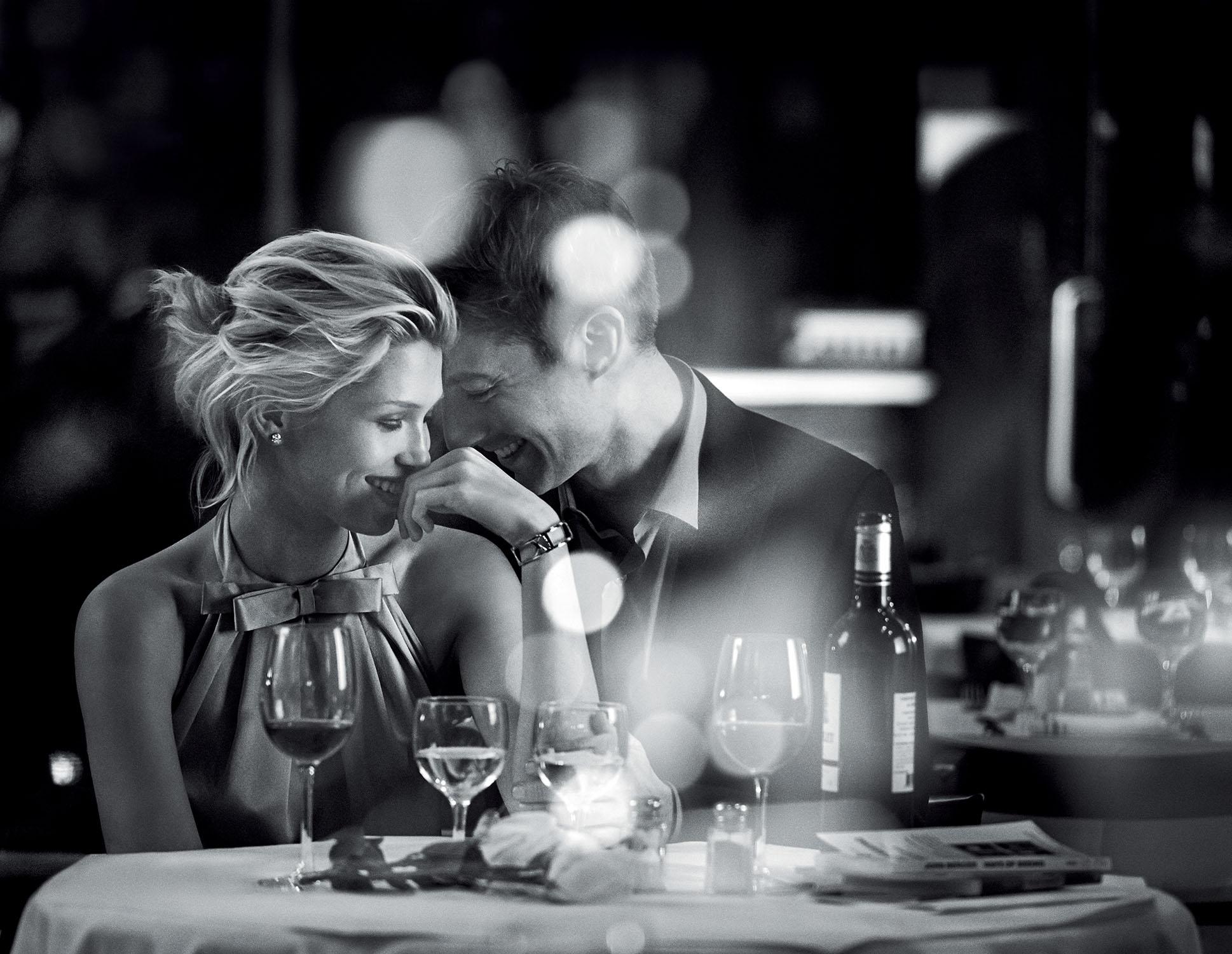 La campagne de publicité pour la marque de bijoux Tiffany & Co, pour la gamme de bijoux Will You? Photos réalisée par Peter Lindbergh.