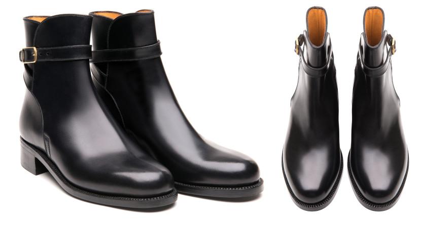 J.M.Weston_Chaussures__boots_noir