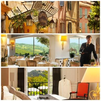 L'Hostellerie Bérard à la Cadière d'Azur, un Hôtel de charme deux restaurants dont un étoilé au Guide Michelin dans le sud de la France sur le blog lifestyle, mode et photo de Michel Gronemberger.