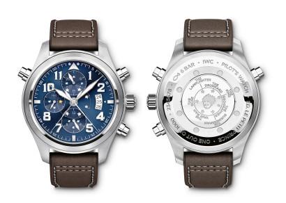 La nouvelle montre d'aviateur faite nanufacture automatique IWC à double chronographe édition le Petit Prince.