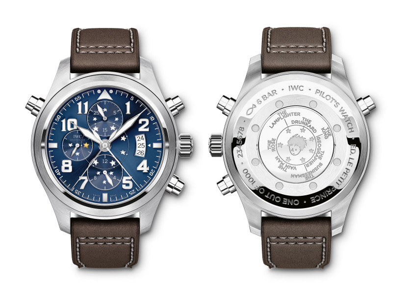 PILOTíS WATCH DOUBLE CHRONOGRAPH ÑLE PETIT PRINCEì