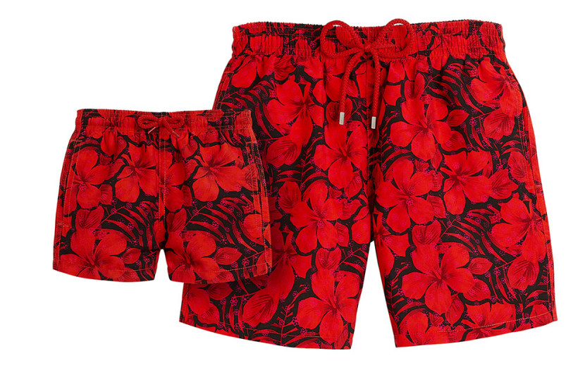 VILEBREQUIN_SS15_FLOWERS_Duo_father_and_son