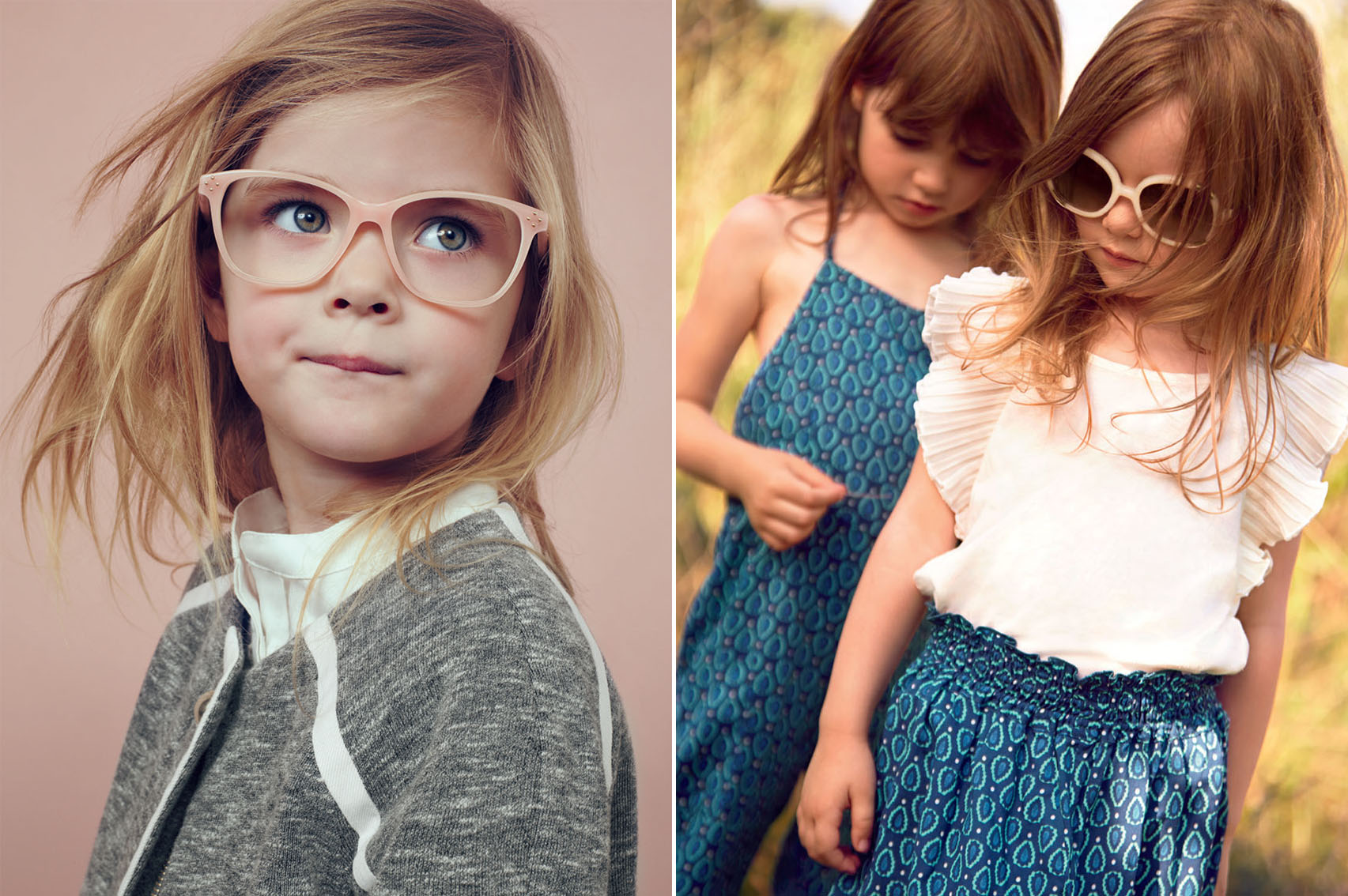 Les nouvelles lunettes Chloé pour les petites filles, avec la collection Kids Eyewear.