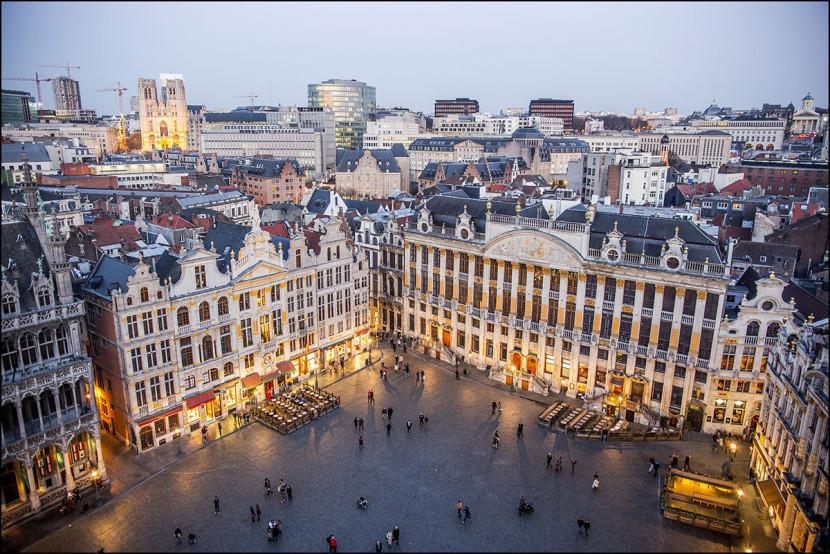 Best of Brussels, un livre souvenir de la capitale Belge, Bruxelles, édité par Racine avec les photographies du d'Eric Danhier.