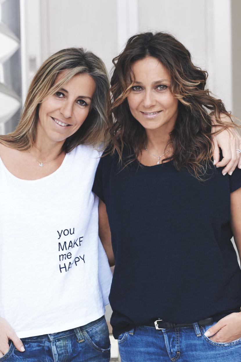 Barbara Boccara et Sharon Krief les deux créatrice de la marque de prêt-à-porter ba&sh