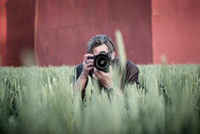 Photo d'un photographe pour un concours photo