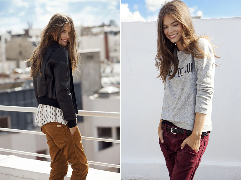 La nouvelle collection des pantalons Sally de ba&sh