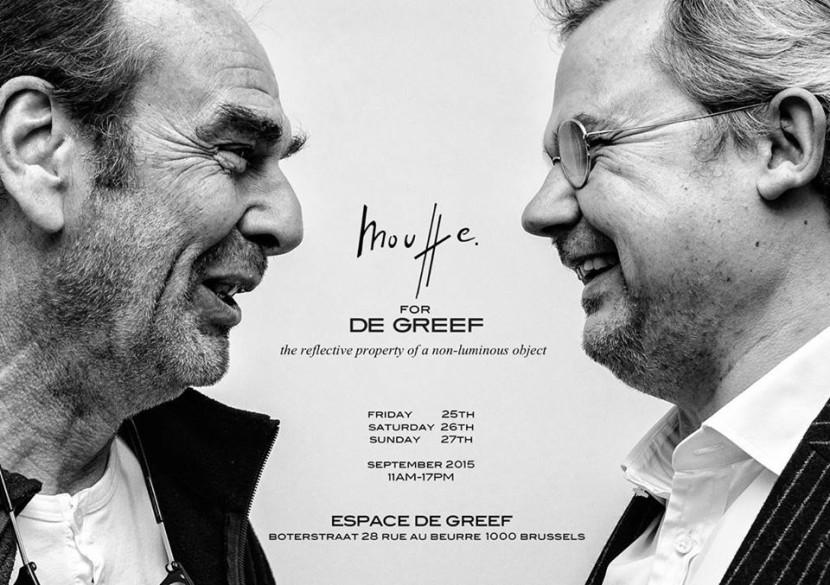 La collaboration entre l'artiste Michel Mouffe et la joaillerie De Greef poru la création d'une collection de bijoux