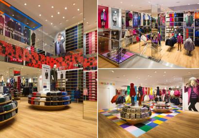 Le nouveau magasin Uniqlo en Belgique à Anvers