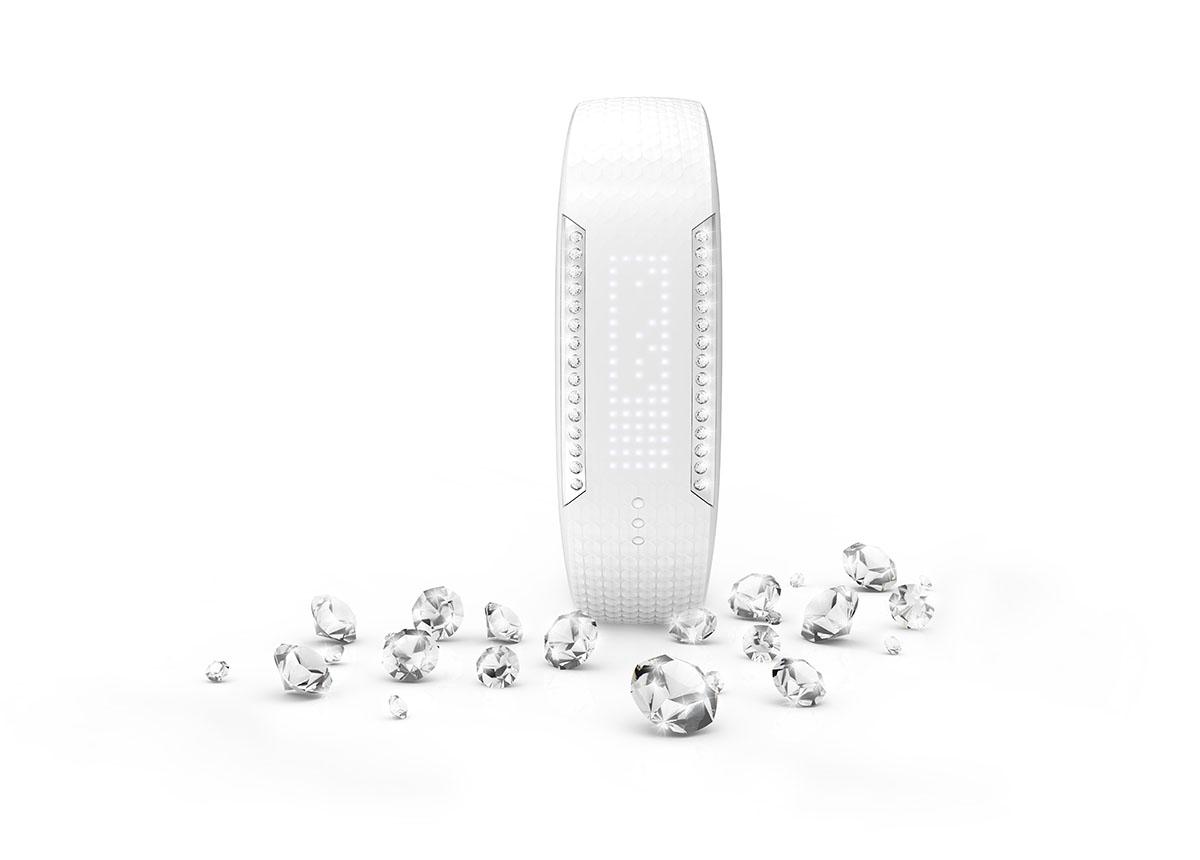 Bracelet sport moniteur d'activité Polar Loop Crystal avec cristaux Zwarovski