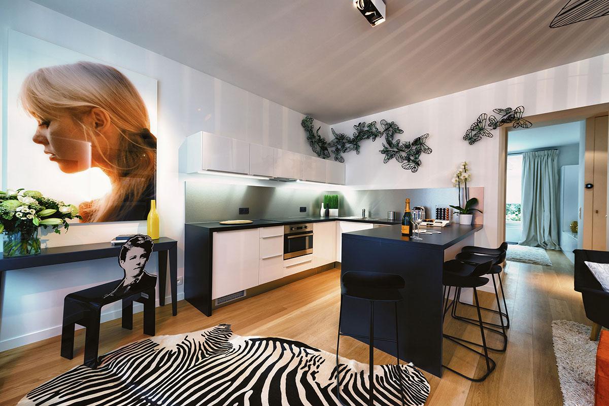 charles 39 home des appartements meubl s de luxe bruxelles. Black Bedroom Furniture Sets. Home Design Ideas