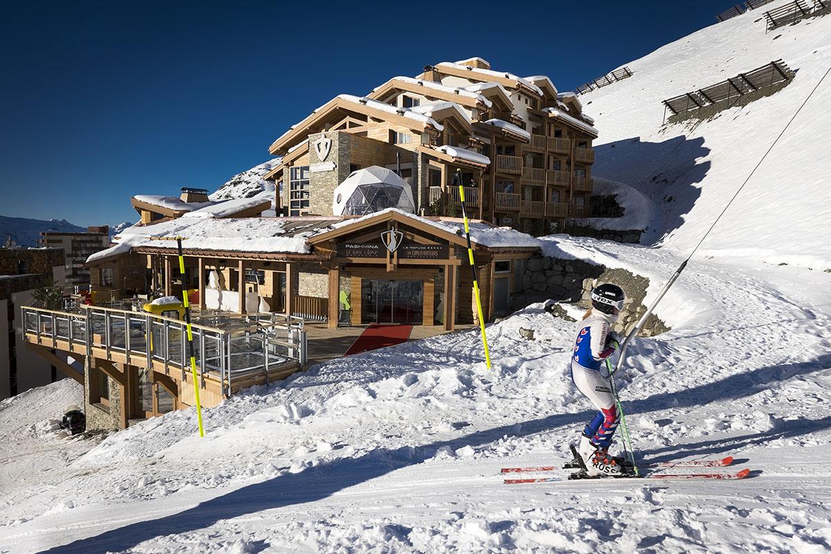 Le Pashmina hôtel de luxe 5 étoiles à Val Thorens dans les Alpes française