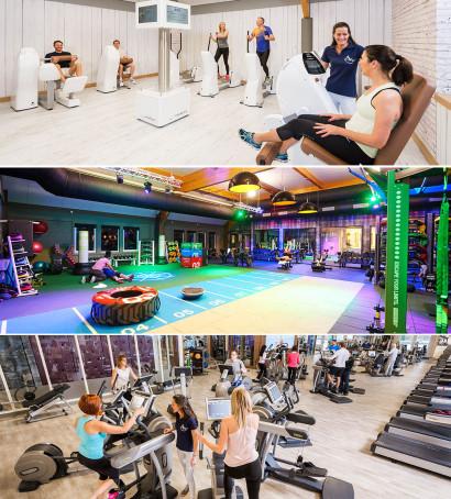 Le club de sport et bien-être haut de gamme à Bruxelles l'Aspria Royal La Rasante