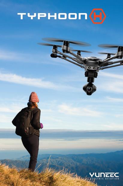 Le nouveau drone Typhoon H de Yuneec
