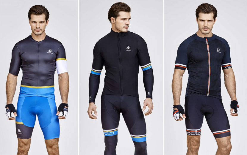 Collection de vêtements techniques printemps été 2016 pour le vélo de la marque de vêtements de sport Odlo