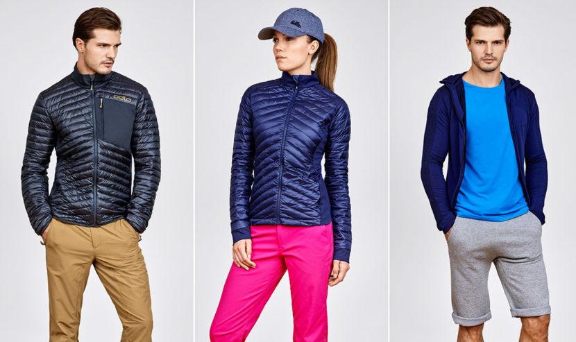 Collection SS16 de vêtements techniques de la marque de vêtements de sport Odlo