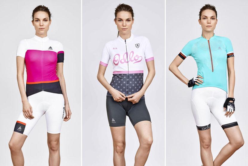 Vêtements techniques vélo pour les femmes de la marque de vêtements de sport Odlo