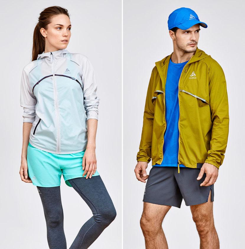 Vêtements techniques pour le jogging de la marque de vêtements de sport Odlo