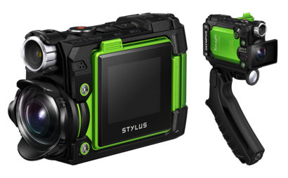 La nouvelle caméra 4K appareil photos TG-Tracker d'Olympus