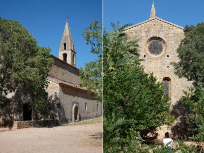 L'église de l'abbaye du Thoronet
