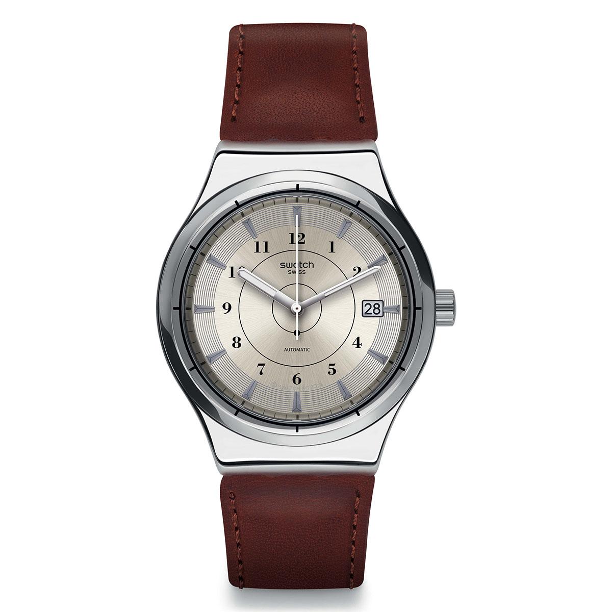 la nouvelle montre automatique de swatch la sistem51 irony. Black Bedroom Furniture Sets. Home Design Ideas
