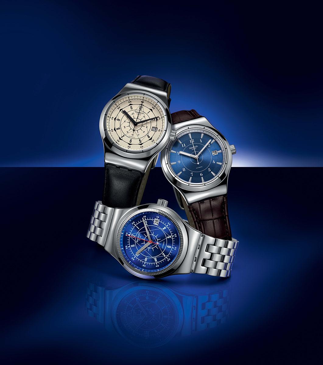 Packshot de la montre Swatch SISTEM51 IRONY