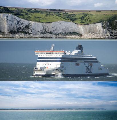 Traversée Calais Douvres Calais avec PO Ferries