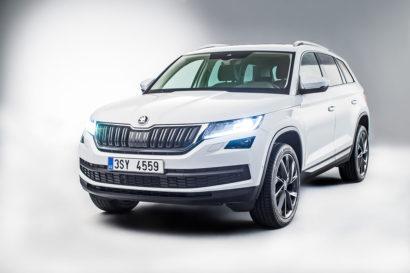 Photos de la nouvelle voiture SUV Skoda Kodiaq