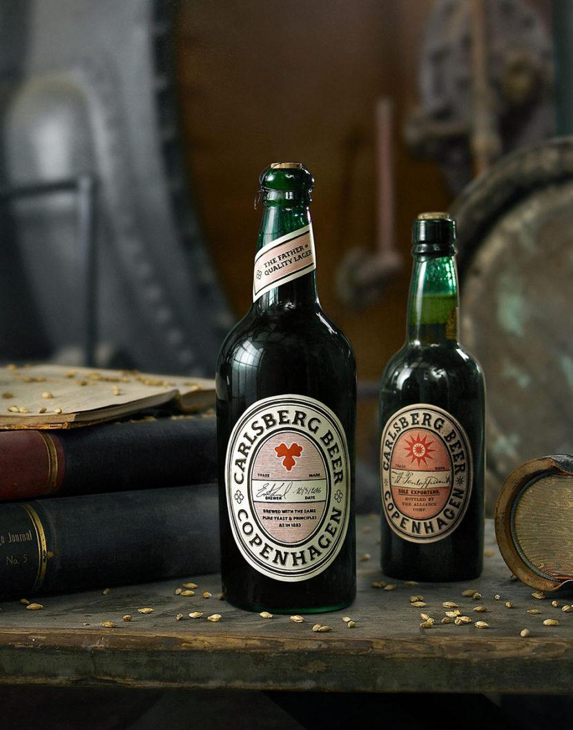 La Carlsberg Rebrew une bière brassée avec une levure pure originelle de 1883