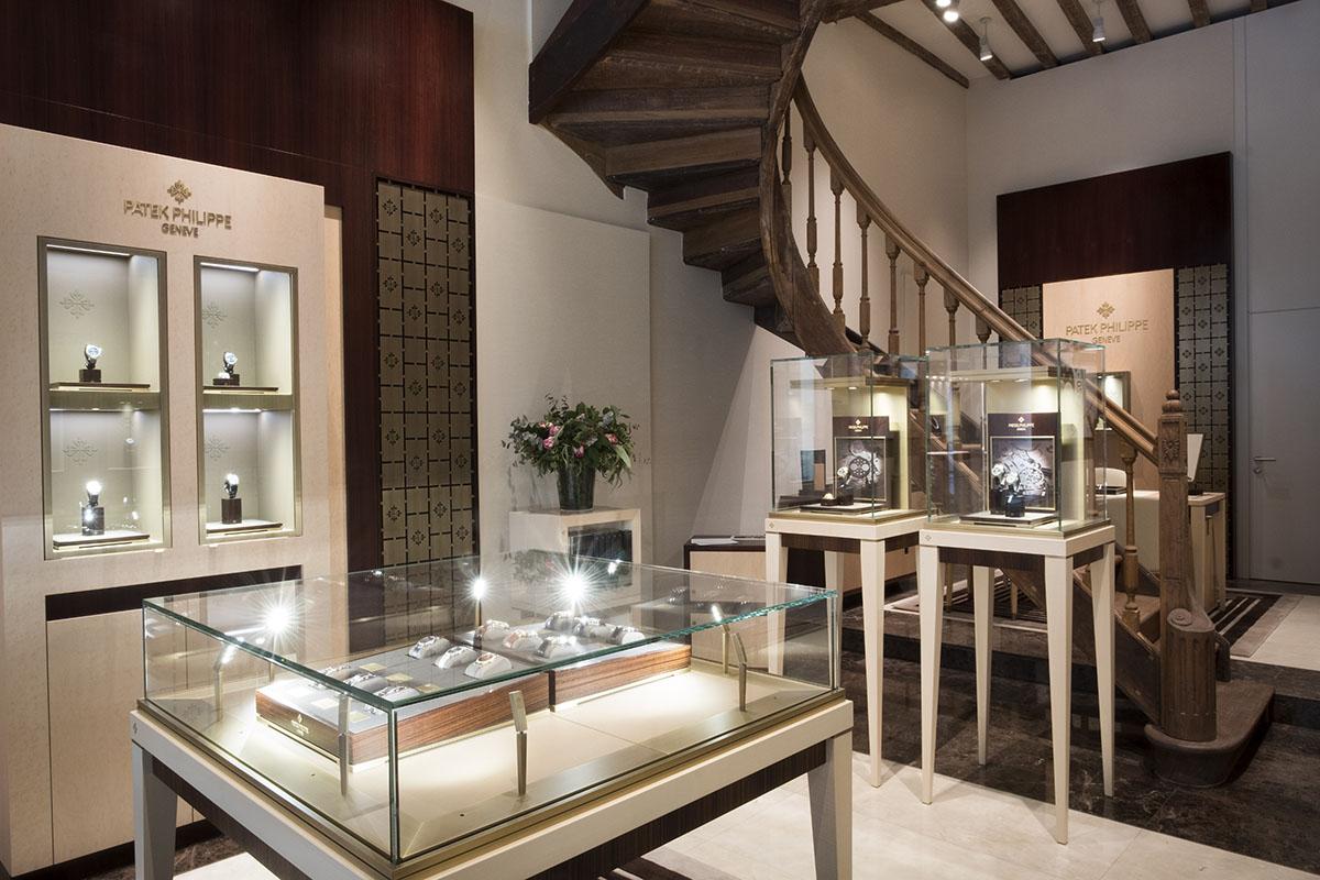 Boutique Patek Philippe by De Greef 28 rue au Beurre à 1000 Bruxelles